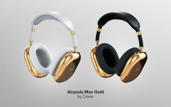 Caviar mạ vàng nguyên chất chỉ 2 tai nghe AirPods Max, giá hơn 2.5 tỷ đồng