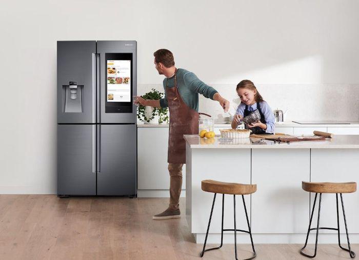 Chiếc tủ lạnh biết trò chuyện và điều thú vị từ hệ sinh thái Samsung