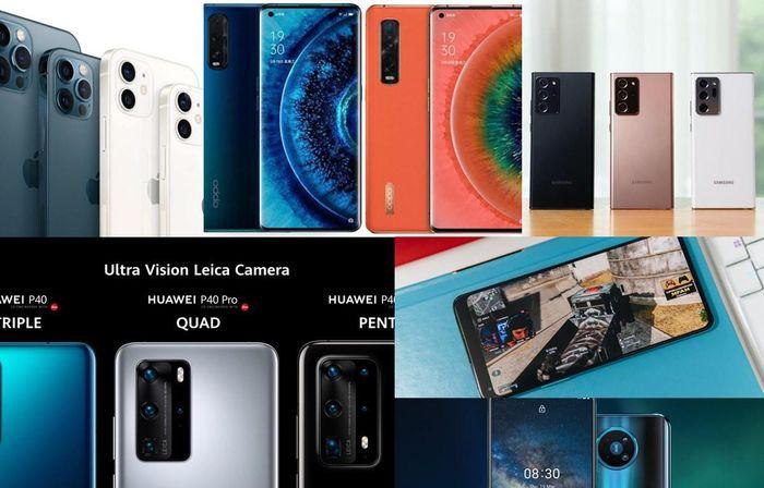 10 mẫu smartphone 5G đáng mua nhất thị trường Việt trong năm 2020