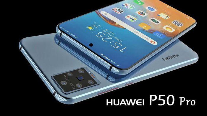 Màn hình Huawei P50 Pro sẽ nhỏ gọn hơn, camera đục lỗ
