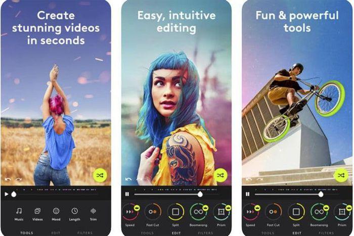 Các ứng dụng chỉnh sửa video tốt nhất cho iOS và Android