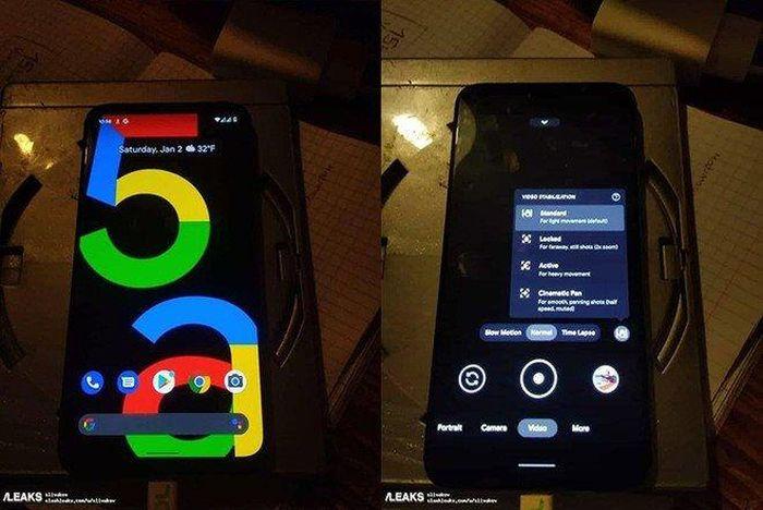 Lộ diện hình ảnh Google Pixel 5a, ra mắt tháng 5