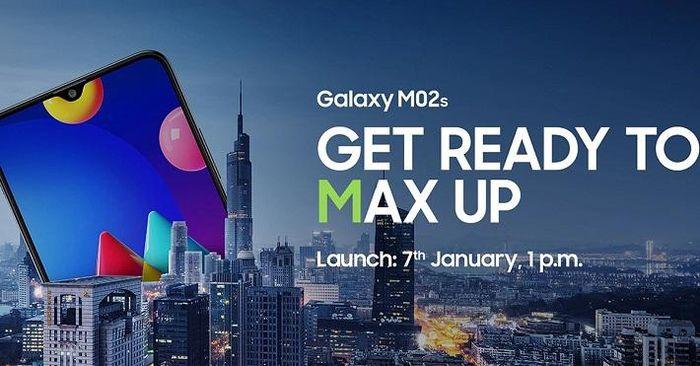 Smartphone giá rẻ Galaxy M02s ra mắt