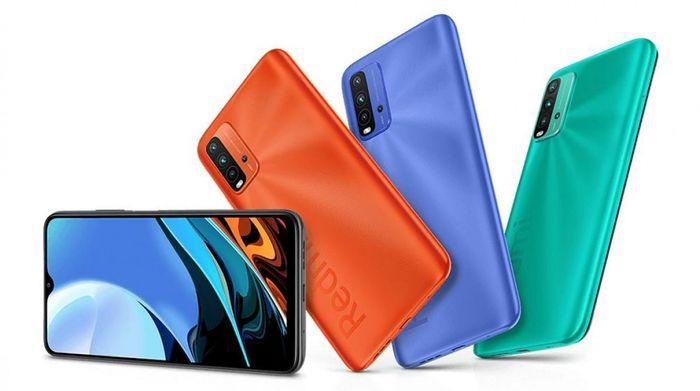 Xiaomi Redmi 9T chipset Snapdragon 662, pin 6.000mAh giá 4,5 triệu