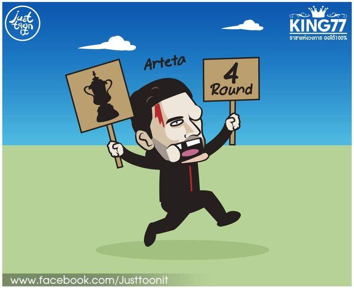 Ảnh chế: Messi đá phạt giỏi hơn Ronaldo, Arteta nhắm vô địch cúp FA