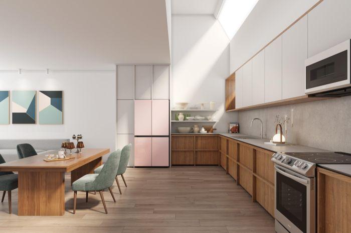 Samsung ra mắt Bespoke tại các thị trường mới, dòng tủ lạnh tùy chỉnh cho nhà bếp hiện đại