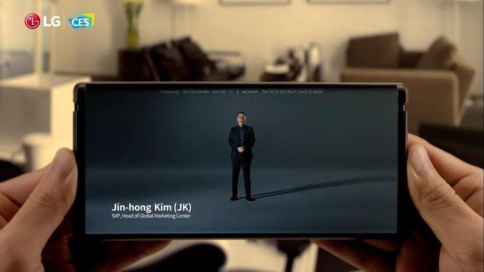 LG hé lộ smartphone màn hình cuộn Rollable, ra mắt trong năm nay