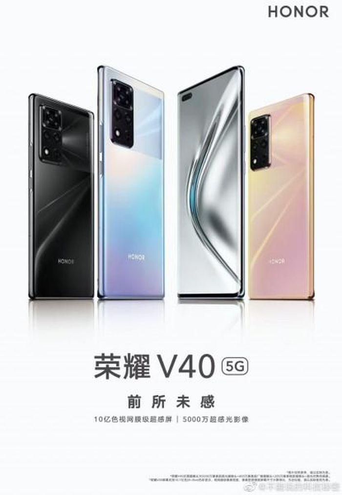 Honor V40 5G xác nhận có camera 50MP