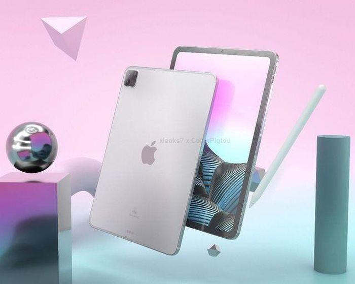 Lộ loạt ảnh thiết kế của iPad Pro 2021: 3 camera 'siêu to', màn hình mini-LED 'xịn sò'