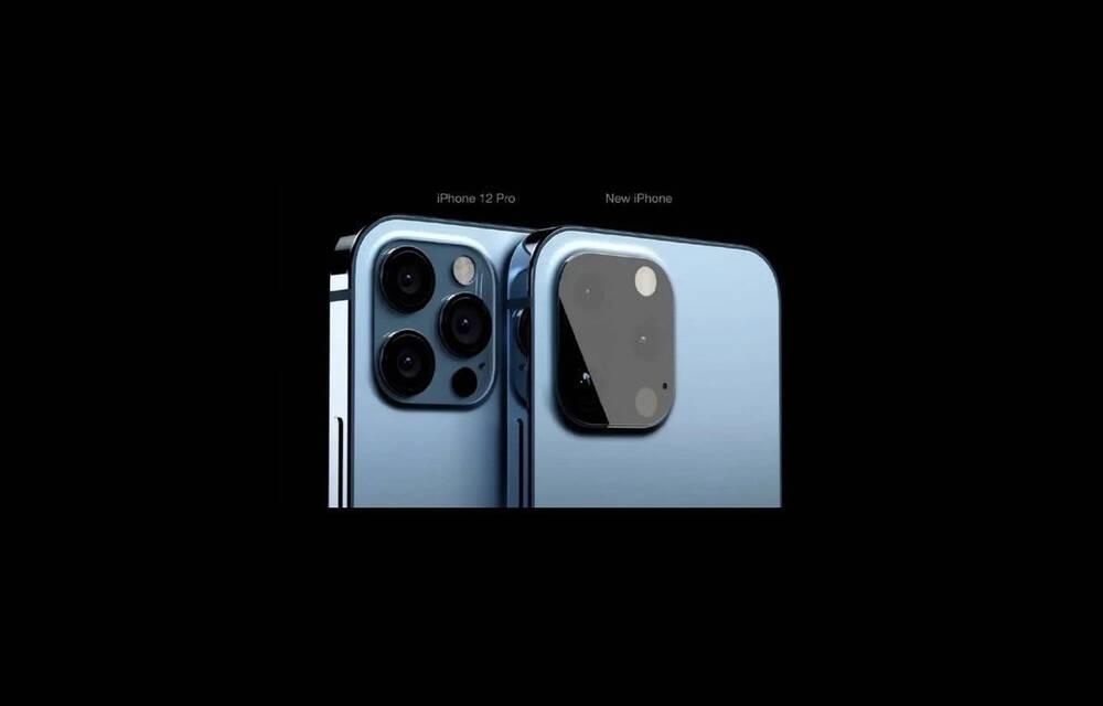 Đây có thể là thiết kế của iPhone 13: Camera bóng bẩy, không còn lồi