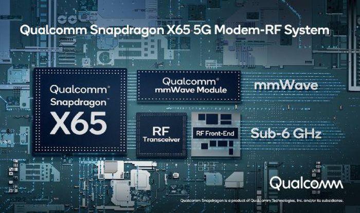 Qualcomm công bố modem X65 5G thế hệ mới, hứa hẹn tốc độ đến 10Gbps