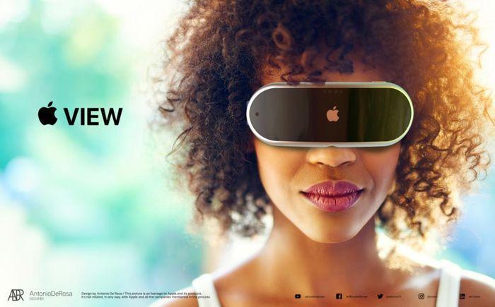 Cận cảnh kính thông minh Apple View giá 3.000 USD