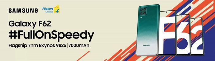 Samsung Galaxy F62 xác nhận đi kèm camera 64MP