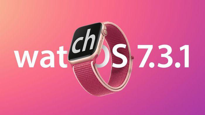 Bản cập nhật watchOS 7.3.1 sửa lỗi sạc cho Apple Watch Series 5 và SE