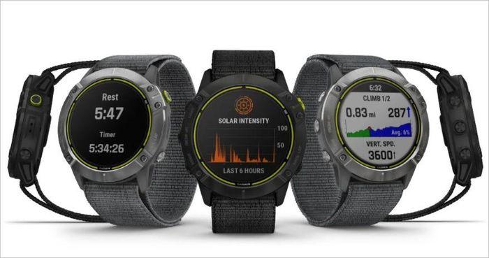 Garmin Enduro ra mắt: smartwatch pin 65 ngày, sạc bằng năng lượng mặt trời