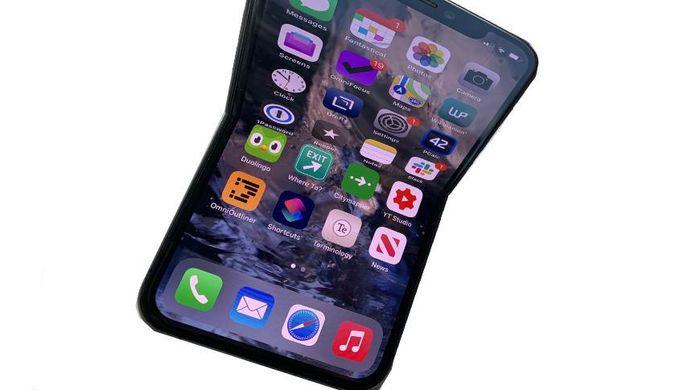 Apple sẽ hợp tác với LG phát triển iPhone màn hình gập