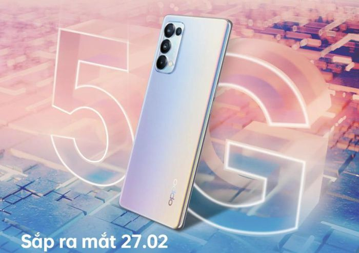 OPPO Reno5 5G sẽ chính thức 'cập bến' Việt Nam vào ngày 27/2