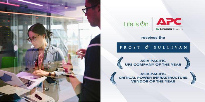 Schneider Electric được vinh danh hai lần tại giải thưởng danh giá Frost & Sullivan 2020
