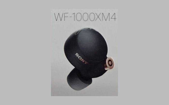 Rò rỉ Sony WF-1000XM4, đối thủ AirPods Pro có thiết kế hoàn toàn mới