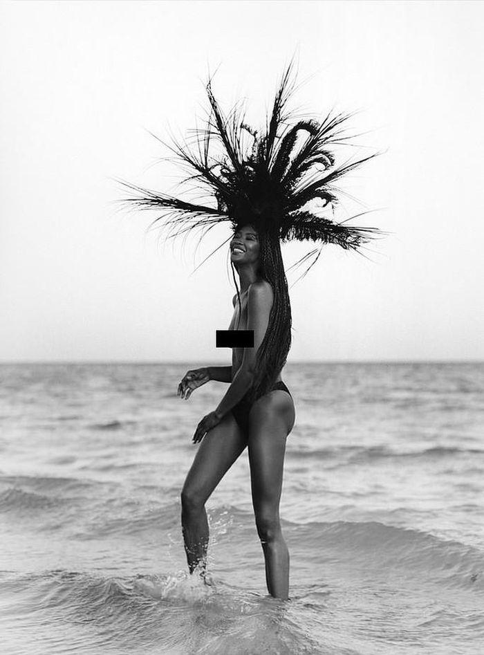 Naomi Campbell hoang dã và quyến rũ