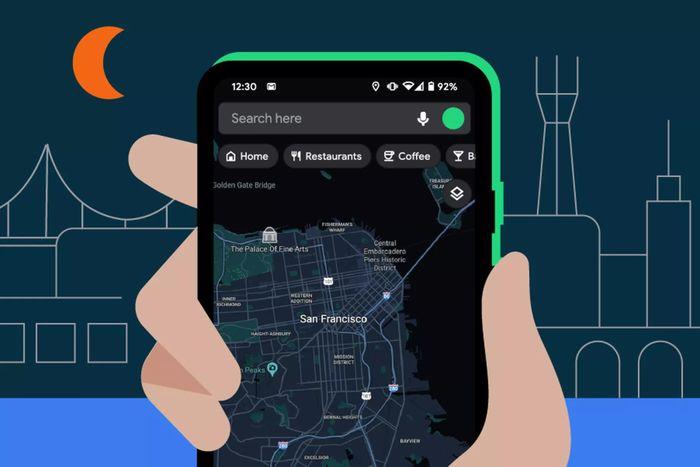 Google Maps cuối cùng cũng có chế độ tối trên Android