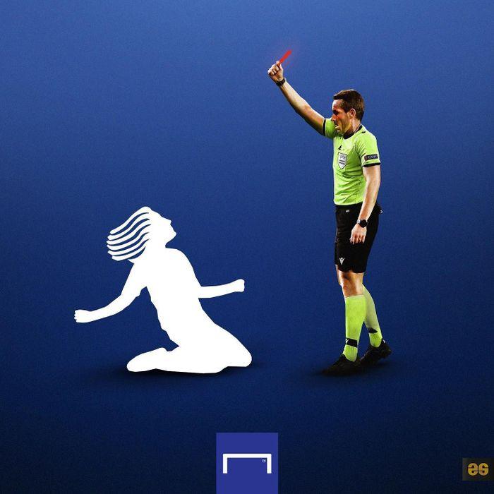 Ảnh chế: Alli ghi bàn giống Giroud, Real thắng tranh cãi, Man City bất bại 19 trận