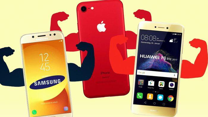 Huawei đang trong trận chiến 'một chọi ba' với Apple, Samsung và Google
