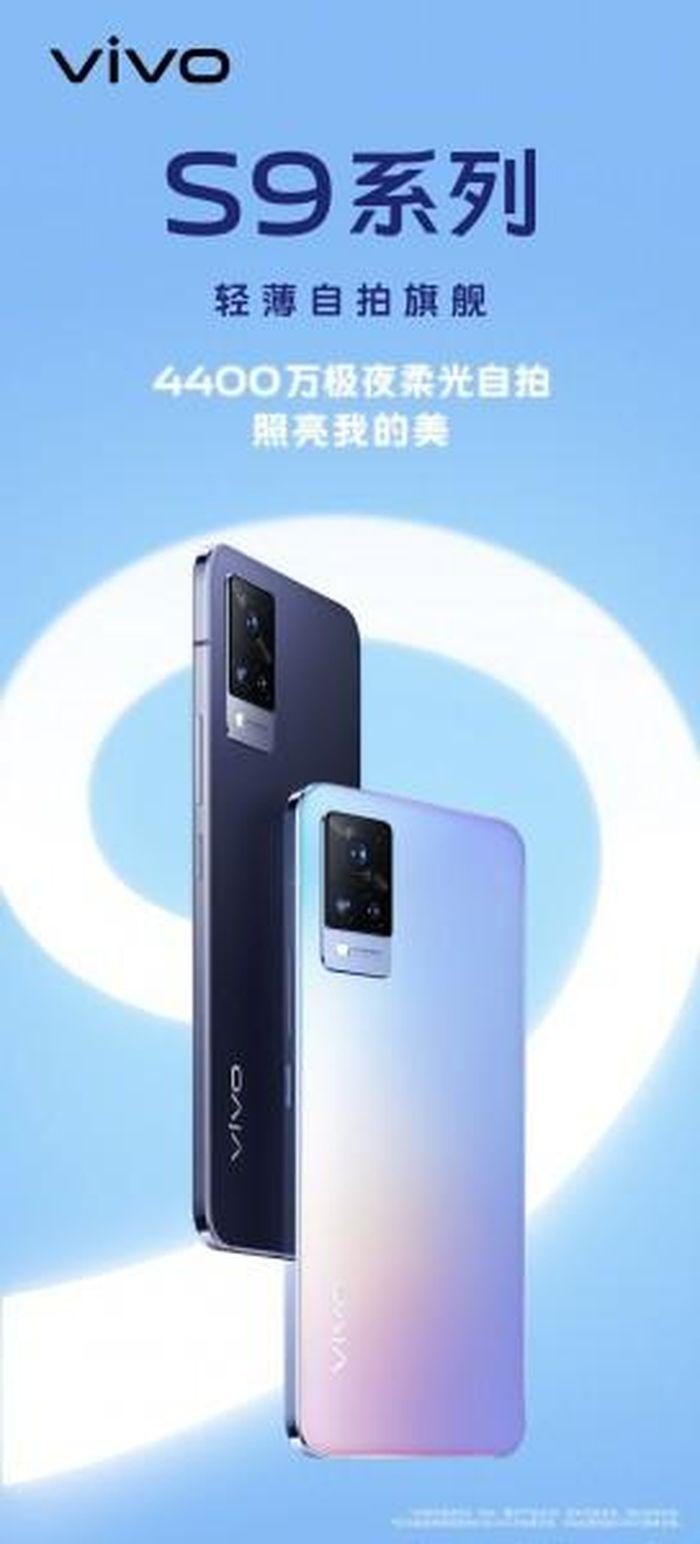 Vivo S9 chính thức lộ diện, xác nhận camera 44MP