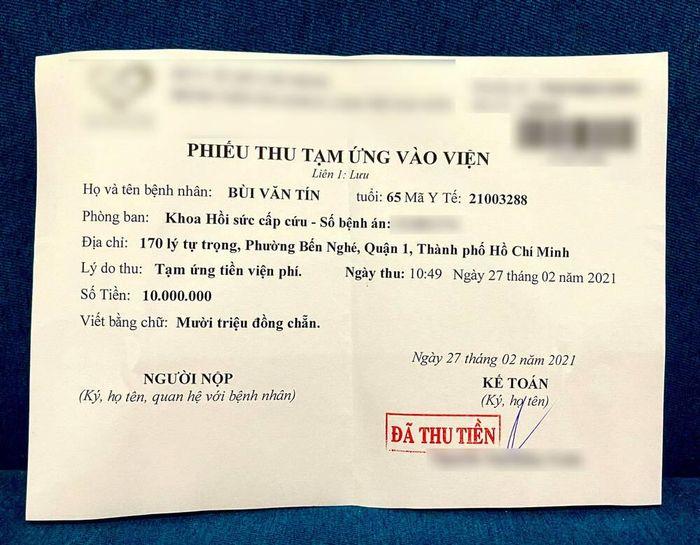 Trịnh Kim Chi công bố quỹ quyên góp hơn 200 triệu đồng: NS Thương Tín sẽ có thể hồi phục sau bạo bệnh
