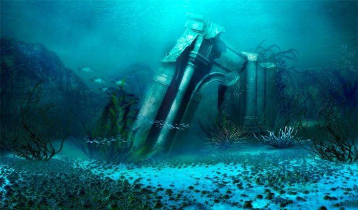 Huyền thoại về thành phố Atlantis mất tích dưới đáy biển