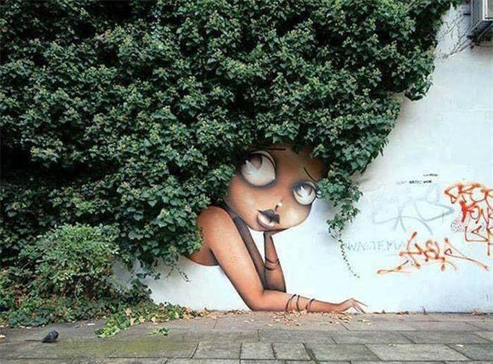Khi trí tưởng tượng của con người được thổi hồn vào cây cối
