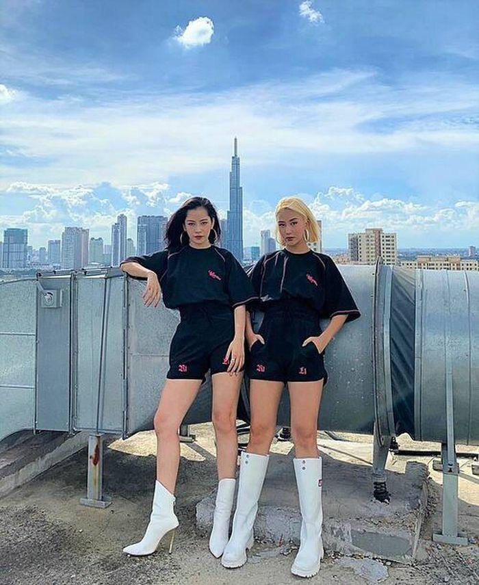 Chi Pu và Quỳnh Anh Shyn cùng check-in tại một địa điểm: Liệu tình chị em 'gương vỡ lại lành'?