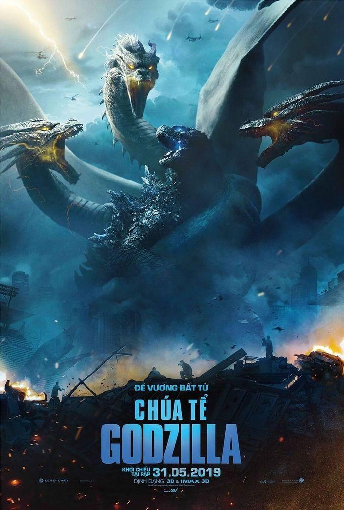 Điểm lại những tác phẩm đặc sắc trong vũ trụ quái vật MonsterVerse nhà Warner Bros.