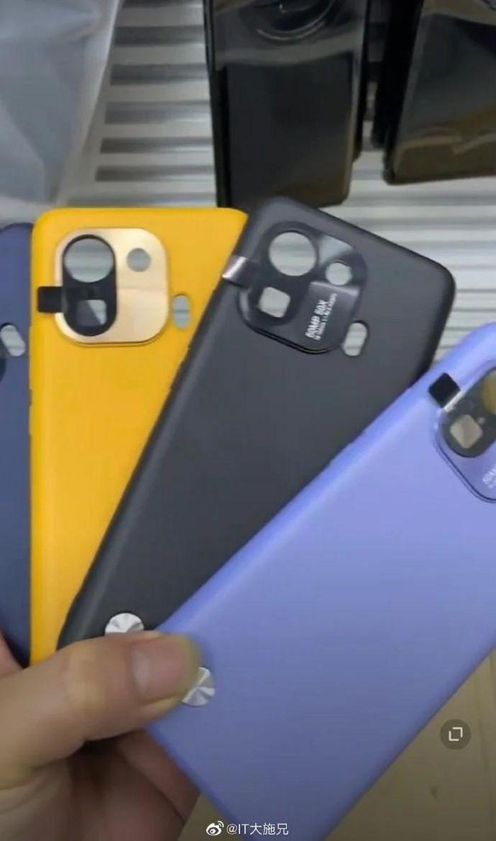 Rò rỉ ảnh case Xiaomi Mi 11 Pro, ngầm hé lộ thiết kế camera