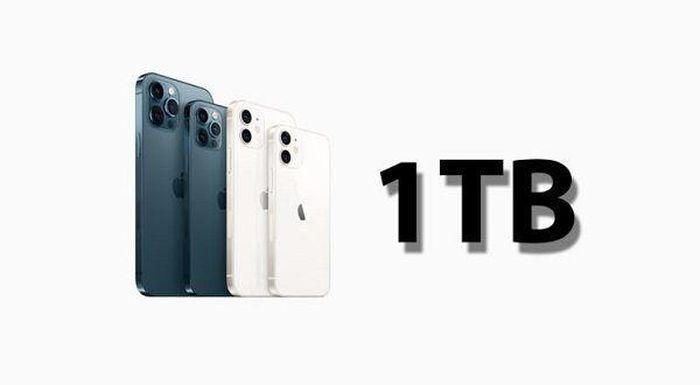 IPhone 13 sẽ có bộ nhớ tối đa 1 TB