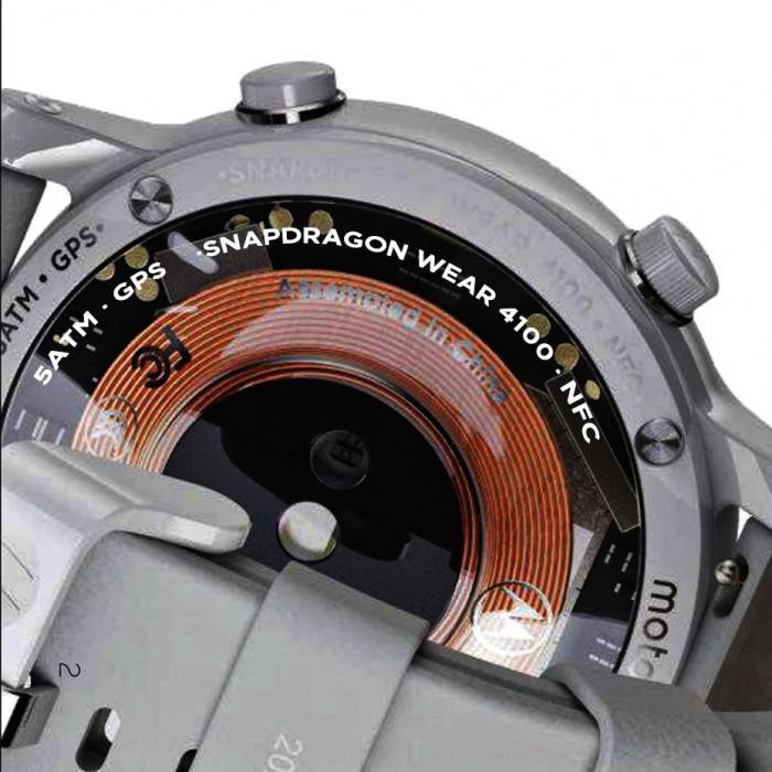 Smartwatch mới của trang Motorola bị Snapdragon Wear 4100