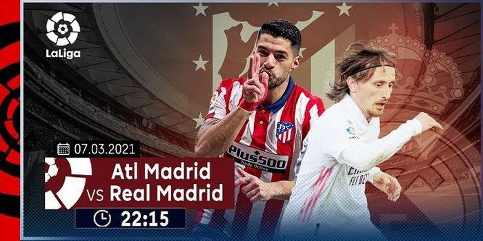 Lịch thi đấu vòng 26 La Liga: Tâm điểm derby Madrid