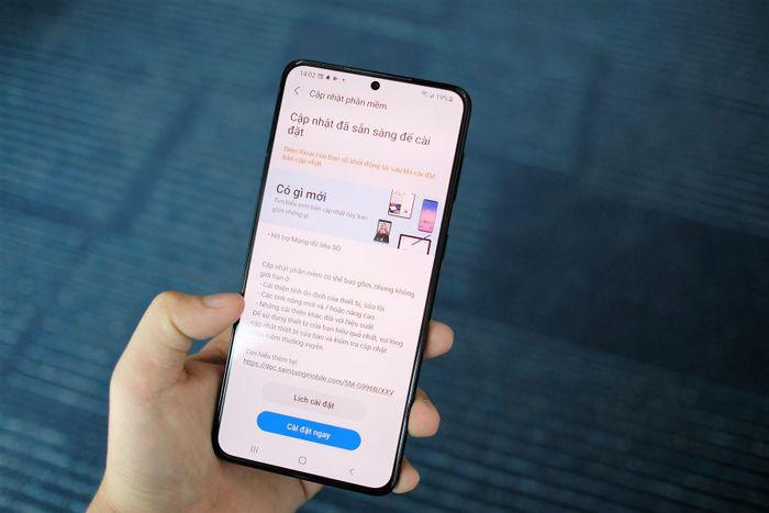 Galaxy S21 đã dùng được 5G tại Việt Nam