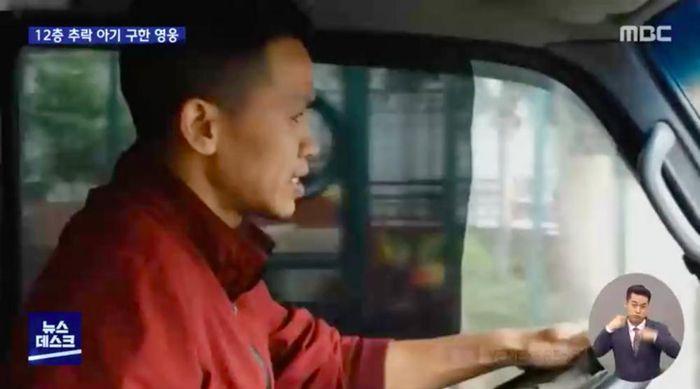 Đài truyền hình Hàn Quốc gọi tài xế Nguyễn Ngọc Mạnh là 'người hùng trong phim'