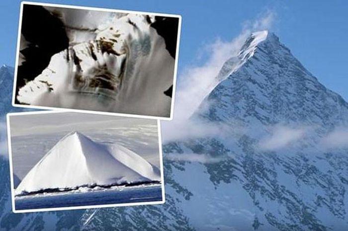 Kim tự tháp lâu đời nhất thế giới hiện tại đang ở Nam Cực?
