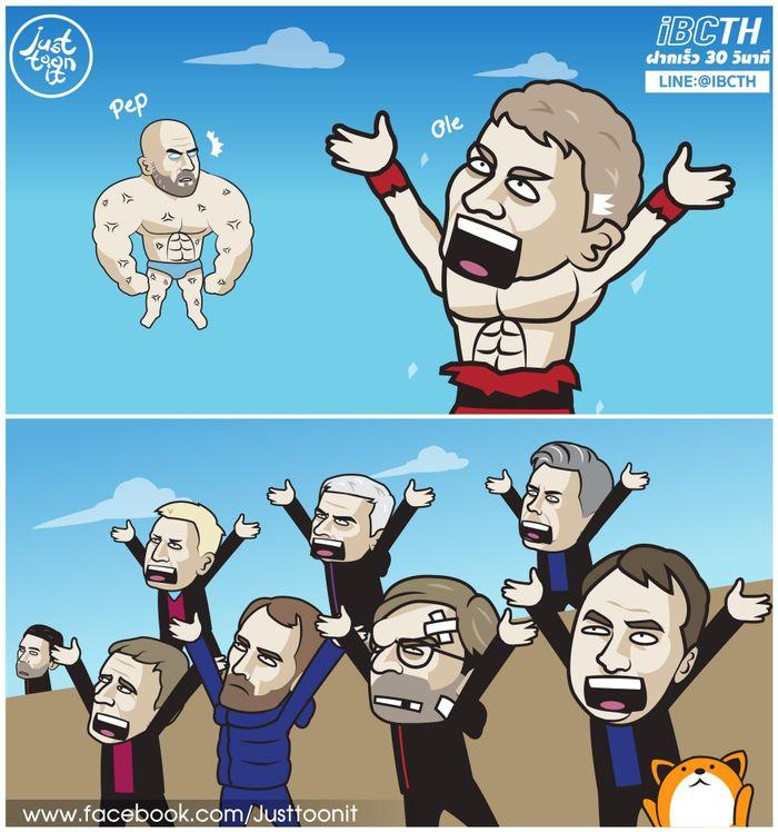 Ảnh chế: Luke Shaw hóa Roberto Carlos, Solskjaer 3 lần hạ Guardiola tại Etihad