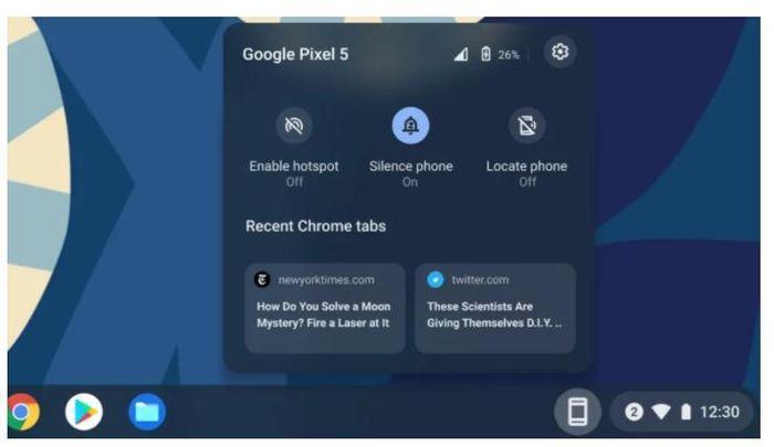 Google cập nhật hệ điều hành giống macOS của Apple