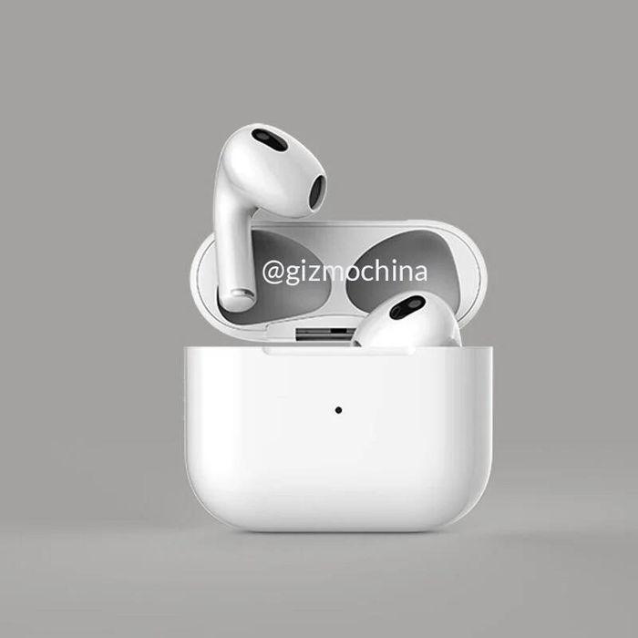 Lộ ảnh render Apple AirPods 3, dự kiến ra mắt vào cuối tháng này