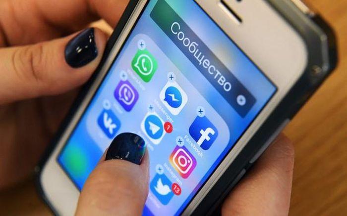 Chính quyền Nga xử lý 5 hãng truyền thông xã hội lớn