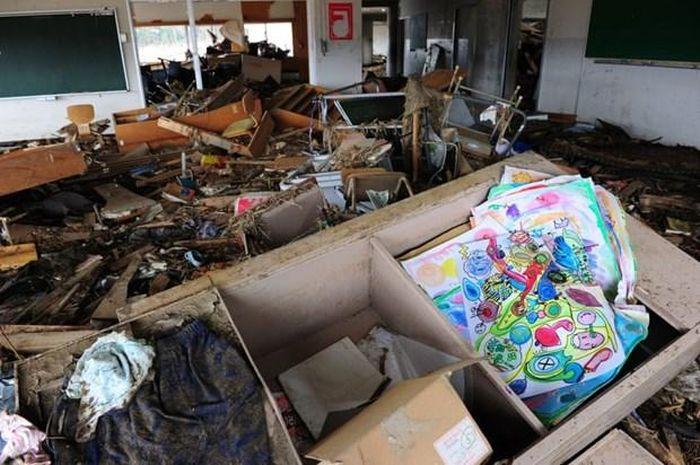 Thảm họa kép Nhật Bản: Khoảng lặng trên sân trường tiểu học Okawa