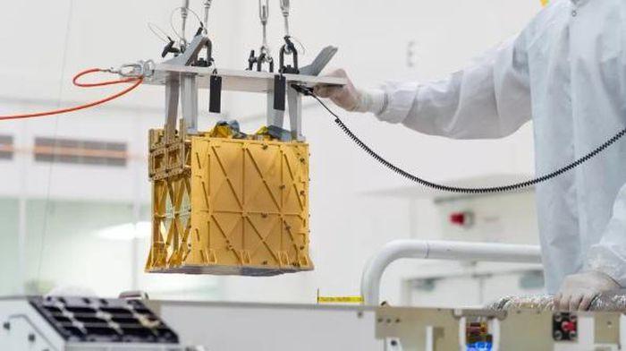 Chiếc hộp tạo ô-xy đặc biệt được mang lên Sao Hỏa