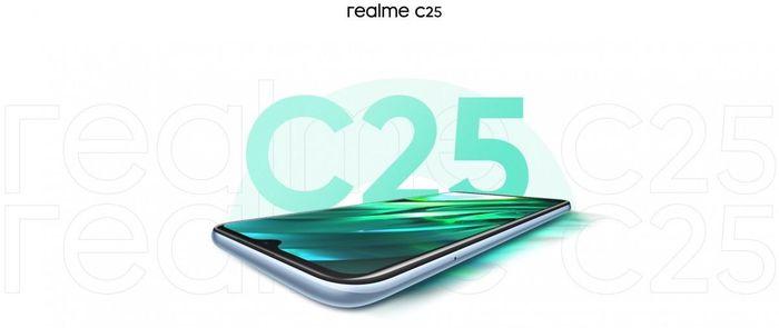 Realme C25 ra mắt vào 23/3, đi kèm Helio G70 SoC và cụm ba camera 48MP