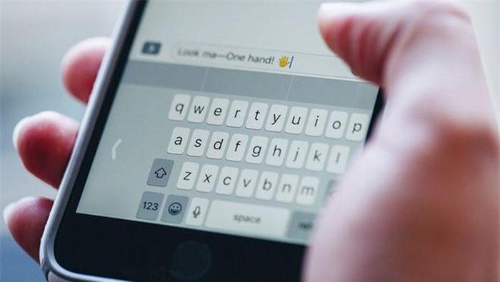 Cách gõ phím nhanh hơn trên iPhone