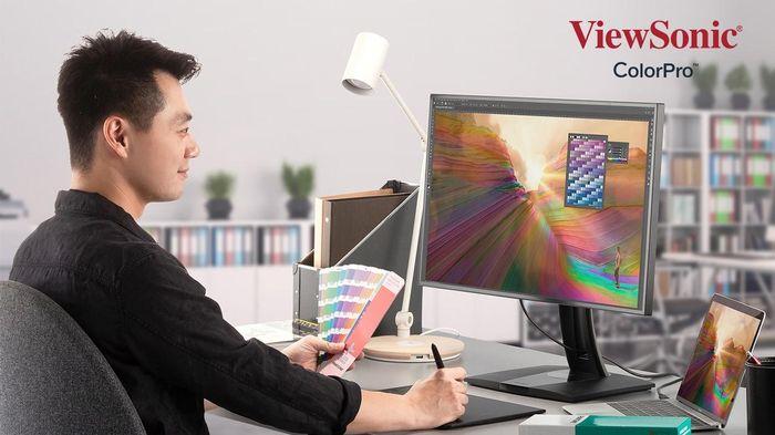 Viewsonic ra mắt màn hình thiết kế đồ họa ColorPro VP68a giá 10 triệu