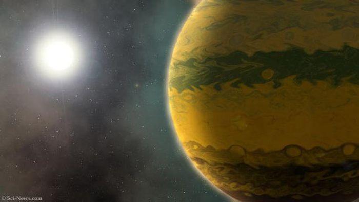 Phát hiện siêu hành tinh còn 'sơ sinh' đã nặng bằng 133 Trái Đất